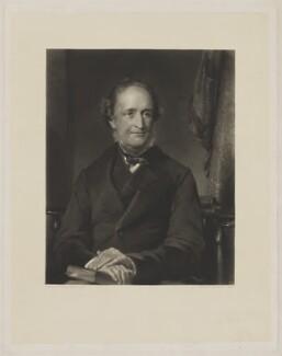 John Taber, by John Richardson Jackson, after  George Richmond - NPG D40850