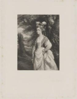 Elizabeth Godden (née Houghton), Lady Taylor, by Frederick Bromley, after  Sir Joshua Reynolds, 1862 (circa 1775) - NPG D41837 - © National Portrait Gallery, London