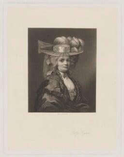 Elizabeth Godden (née Houghton), Lady Taylor, by James Scott, after  John Hoppner, 1850s-1880s (circa 1780) - NPG D41838 - © National Portrait Gallery, London