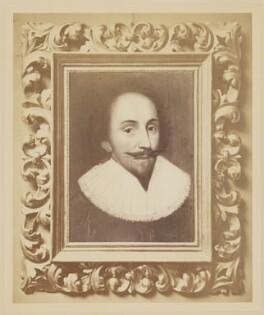 Unknown man called William Shakespeare, after Unknown artist - NPG D41644