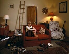 Marianne Faithfull, by Denis Waugh, December 1981 - NPG x134837 - © Denis Waugh / National Portrait Gallery, London