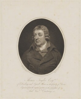 Thomas Taylor, by Mackenzie, after  John Opie - NPG D40859