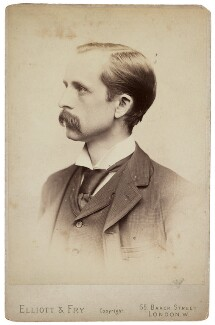 J.M. Barrie, by Elliott & Fry - NPG P1660