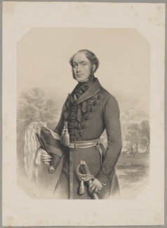 Lieutenant-Colonel Taylor, by Charles Baugniet, printed by  Day & Haghe - NPG D40861