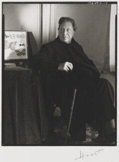 Sir Osbert Sitwell, by Horst P. Horst, 1948 - NPG P1662 - © Horst