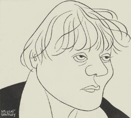 Iris Murdoch, by Nicolas Clerihew Bentley, circa 1961 - NPG  - © reserved; collection National Portrait Gallery, London