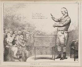 William Cobbett ('Cobbett's Lectures'), by John ('HB') Doyle, published by  Thomas McLean - NPG D40990