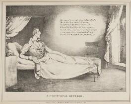Arthur Wellesley, 1st Duke of Wellington ('A Nocturnal Reverie'), by John ('HB') Doyle, published by  Thomas McLean - NPG D40992