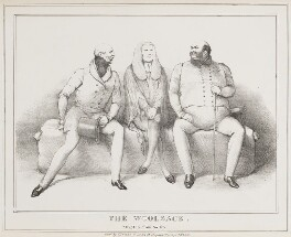 The Woolsack, by John ('HB') Doyle, published by  Thomas McLean - NPG D40995