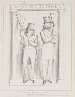 Alas! Poor Yorick (John Scott, 1st Earl of Eldon; Ernest Augustus, Duke of Cumberland and King of Hanover), by John ('HB') Doyle, published by  Thomas McLean - NPG D41000