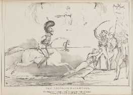 San Leopoldo Matamoros or The Princess Charlotte's Own, charging the Holy Alliance, by John ('HB') Doyle, published by  Thomas McLean, published 3 June 1830 - NPG D41002 - © National Portrait Gallery, London