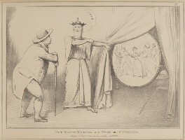 The Magic Mirror or a Peep into Futurity, by John ('HB') Doyle, published by  Thomas McLean, published 8 June 1830 - NPG D41003 - © National Portrait Gallery, London