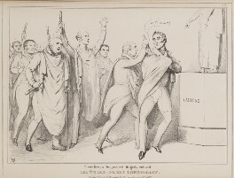 Scene from a Suppressed Tragedy entitled The Turco Greek Conspiracy, by John ('HB') Doyle, published by  Thomas McLean - NPG D41004