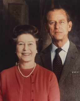 Queen Elizabeth II; Prince Philip, Duke of Edinburgh, by Prince Andrew, Duke of York - NPG P1410