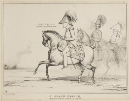 A Horse Marine, by John ('HB') Doyle, printed by  Charles Etienne Pierre Motte, published by  Thomas McLean, published 12 March 1830 - NPG D41013 - © National Portrait Gallery, London