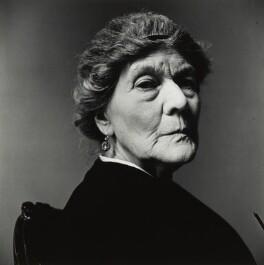 Dame Ivy Compton-Burnett, by Irving Penn - NPG P1397