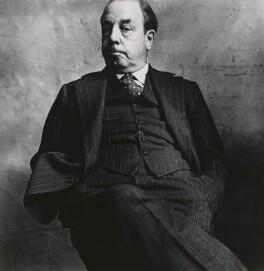 J.B. Priestley, by Irving Penn - NPG P1401