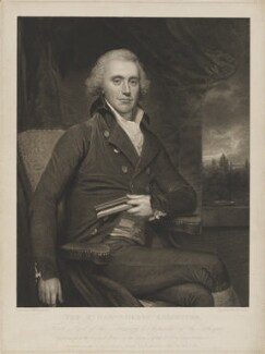 Henry Addington, 1st Viscount Sidmouth, by James Parker, published by  John Boydell, and published by  Josiah Boydell, after  Sir William Beechey - NPG D41679