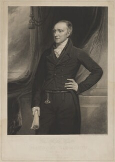 Henry Addington, 1st Viscount Sidmouth, by Samuel Cousins, by and published by  Samuel William Reynolds, after  Thomas Clement Thompson - NPG D41680