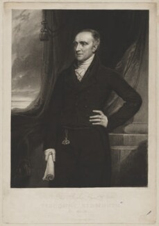 Henry Addington, 1st Viscount Sidmouth, by Samuel Cousins, by and published by  Samuel William Reynolds, after  Thomas Clement Thompson - NPG D41681