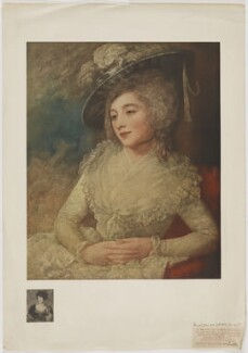 Mrs Taylor (née Janverin), published by The Medici Society Ltd, after  George Romney - NPG D40862