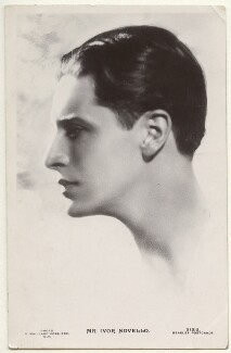 Ivor Novello, by George Maillard Kesslere, published by  J. Beagles & Co - NPG Ax160186