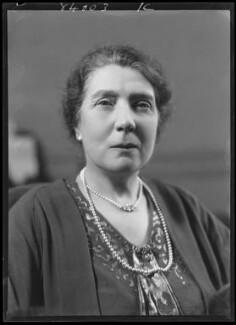 Beatrice (née Tyler), Lady Jenkins, by Bassano Ltd, 16 February 1938 - NPG x155318 - © National Portrait Gallery, London