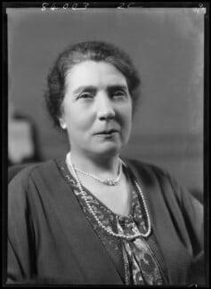 Beatrice (née Tyler), Lady Jenkins, by Bassano Ltd, 16 February 1938 - NPG x155319 - © National Portrait Gallery, London