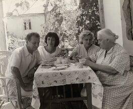Artem Alikhanian; Ida Kar; Marina Alikhanian; Mrs Litvinoff, by Ida Kar - NPG x134868