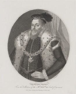 Sir Henry Sidney, by and published by Edward Harding - NPG D41692