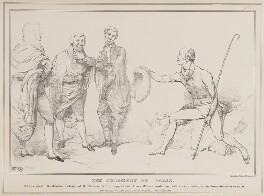 The Judgement of Paris, by John ('HB') Doyle, printed by  Charles Etienne Pierre Motte, published by  Thomas McLean - NPG D41030
