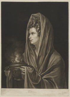 Mrs Sidney, by John Raphael Smith, after  Richard Cosway - NPG D41695