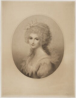 Lady Diana Sinclair, by Edward William Stodart, after  Richard Cosway - NPG D41697