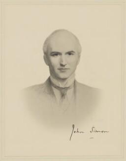 John Allsebrook Simon, 1st Viscount Simon, after Frank Dicksee - NPG D41702