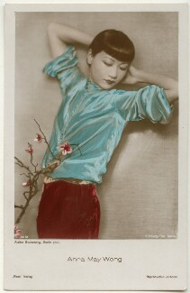 Anna May Wong, by Atelier Gudenberg, published by  Ross-Verlag - NPG Ax160193