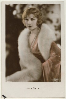 Alice Terry, by Unknown photographer - NPG Ax160195