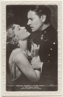 Vilma Bánky and Ronald Colman in 'The Magic Flame', published by J. Beagles & Co - NPG Ax160196