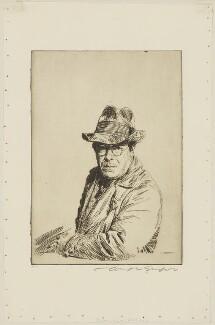 Joseph Simpson ('Man in an old hat'), by Joseph Simpson - NPG D41707