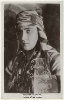 Rudolph Valentino in 'The Son of the Sheikh', by Unknown photographer - NPG Ax160203
