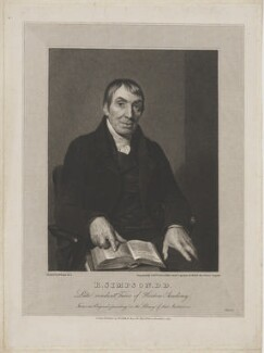 Robert Simpson, by Edward Scriven, published by  Robert Cribb & Son, after  George Dawe - NPG D41708