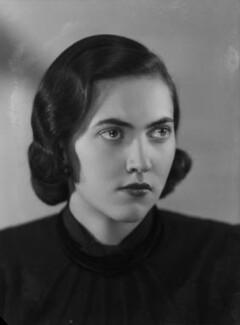 Lady Cynthia Rosalie Postan (née Keppel), by Bassano Ltd - NPG x155413