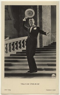 Maurice Chevalier, published by Ross-Verlag - NPG Ax160207
