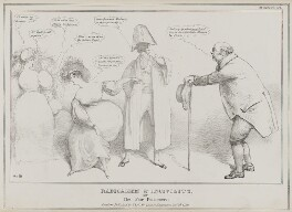 Radicalism & Incivility, or The Fair Pensioners, by John ('HB') Doyle, published by  Thomas McLean, published 24 January 1831 (inscribed 1830) - NPG D41041 - © National Portrait Gallery, London