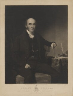 Andrew Skene, by Thomas Goff Lupton, published by  Paul and Dominic Colnaghi & Co, after  Mr Kay - NPG D41718