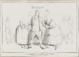 A Scene from the Beggar's Opera, by John ('HB') Doyle, printed by  Charles Etienne Pierre Motte, published by  Thomas McLean - NPG D41049