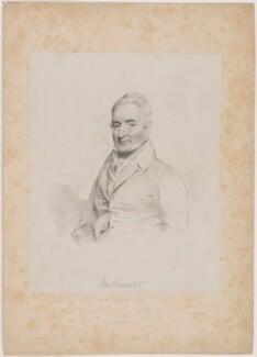 J.M. Skinner, by Isaac Ware Slater, printed by  Charles Joseph Hullmandel, after  Joseph Slater - NPG D41719
