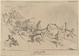 Leap Frog Down Constitution Hill, by John ('HB') Doyle, published by  Thomas McLean, published 13 April 1831 - NPG D41055 - © National Portrait Gallery, London
