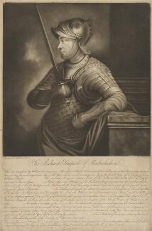 Sir Richard Stacpoole, by James Watson, after  Segulta - NPG D40869