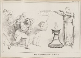 Votaries at the Altar of Discord, by John ('HB') Doyle, printed by  Charles Etienne Pierre Motte, published by  Thomas McLean - NPG D41057