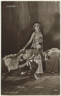 Vaslav Nijinsky and Serafima Astafieva in 'Cleopatre', probably by Ernst Sandau, published by  Hermann Leiser - NPG Ax160214